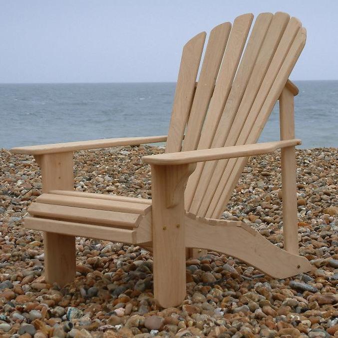 Adirondack Chairs Uk classic adirondack chair in oak - hand made in the uk